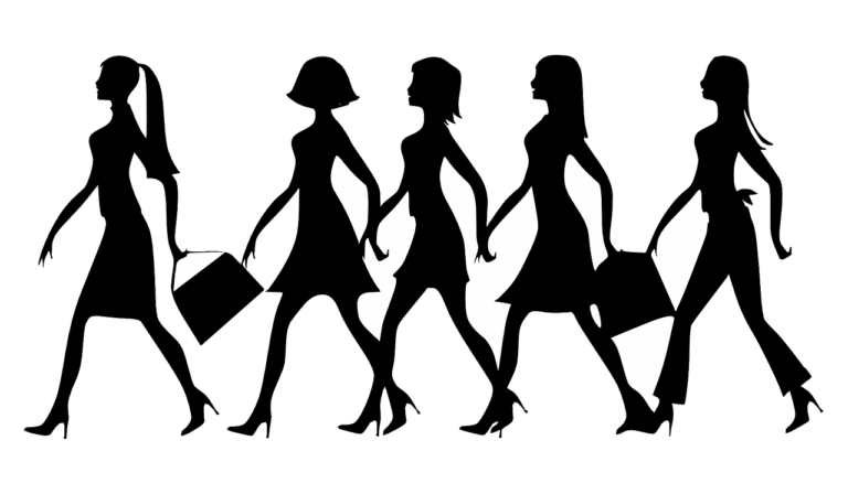 Silhouette Women Work Walking  - Clker-Free-Vector-Images / Pixabay